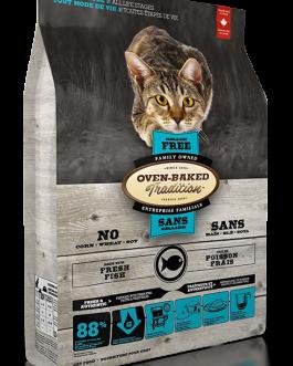 OBT-(sin granos)-Pescado fresco-para Gatitos (adultos) 2,27 Kg