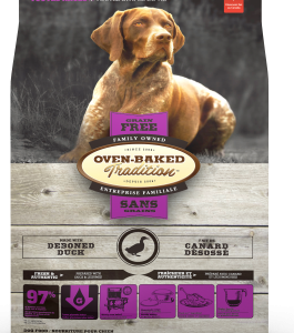 OBT-(sin granos)-Pato-para Perritos (razas pequeñas) 2,27 kg